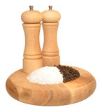 Salt And Pepper Grinder Royalty Free Stock Images