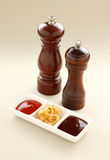 Salt And Pepper Grinders Royalty Free Stock Photos