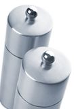 Salt and Pepper grinders Stock Photography