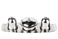 Salt and pepper jar set Stock Images