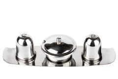 Salt and pepper jar set Stock Images
