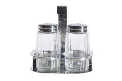 Salt and pepper jars Royalty Free Stock Image