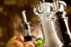 Salt and Pepper Mill Stock Photos