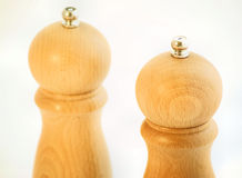 Salt and Pepper Mills Royalty Free Stock Photography