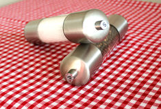 Salt and Pepper Mills Stock Image
