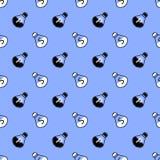 Salt and Pepper Seamless Pattern Stock Photos