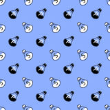 Salt and Pepper Seamless Pattern Royalty Free Stock Photos