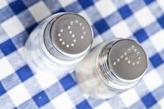 Salt and pepper shaker Stock Photo