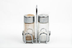 Salt and pepper shaker Royalty Free Stock Photo