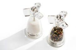Salt and pepper shaker stock photography
