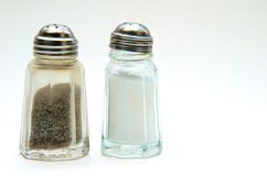 Salt & Pepper Shaker Royalty Free Stock Photography