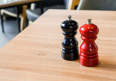 Salt and Pepper shaker royalty free stock photos