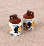 Salt Pepper Shakers Stock Photo