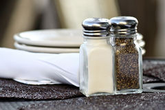 Salt and Pepper Shakers Stock Image
