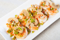 Salt and pepper shrimp Royalty Free Stock Photography