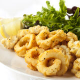 Salt and pepper Squid Stock Images