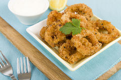 Salt and Pepper Squid Stock Photos
