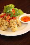 Salt and pepper squid Royalty Free Stock Photography