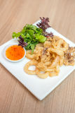 Salt&pepper squid Stock Image