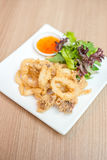 Salt&pepper squid Stock Images