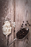 Salt and pepper vintage Royalty Free Stock Images