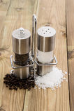 Salt- and Peppershaker Stock Photography