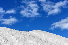 Salt pile Royalty Free Stock Images