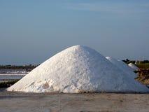 Salt piles Royalty Free Stock Photography