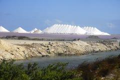 Salt Piles Stock Photography