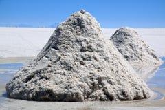 salt piramids Royaltyfria Bilder