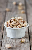 Salt pistachio Stock Photos