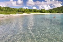 Salt Pond Beach, St. John Stock Photos