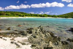 Salt Pond Beach, St. John Stock Photography