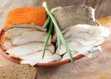 Salt pork Royalty Free Stock Image