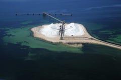 Salt port Royalty Free Stock Image