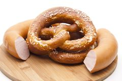 Salt pretzel Stock Image