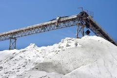 Salt production Royalty Free Stock Photography