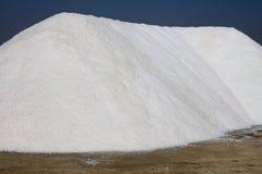 Salt Production at Marsala on Sicily Royalty Free Stock Photography
