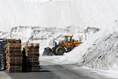 Salt production plant Stock Image