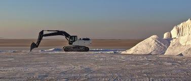Salt produktion Royaltyfria Bilder