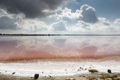 Salt produktion royaltyfri foto