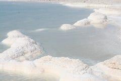 salt räknade rocks Arkivbilder