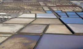 salt raffinaderi Arkivfoton