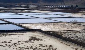 Salt refinery Stock Image