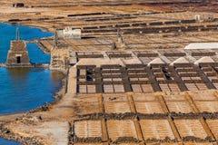 Salt refinery. Stock Images