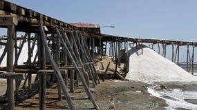 Salt refinery Royalty Free Stock Image