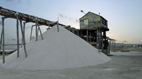 Salt refinery Stock Photos