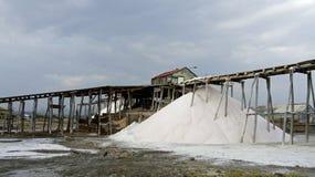 Salt refinery Royalty Free Stock Photography