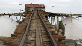 Salt refinery Stock Photos