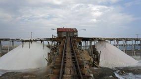 Salt refinery Stock Images